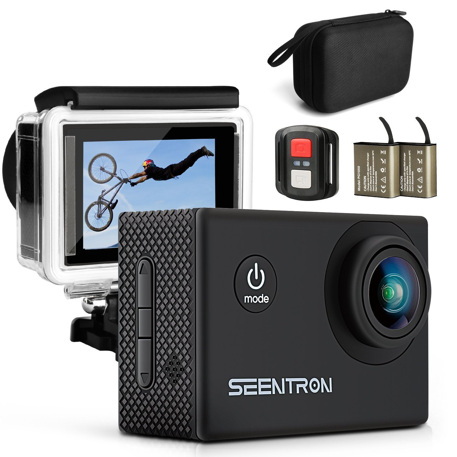 SEENTRON 4K WIFI HD Action Camera Review
